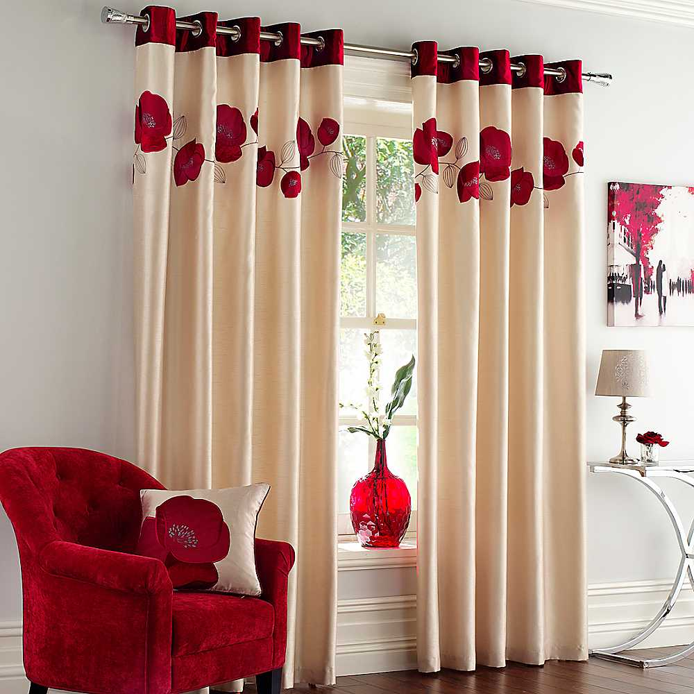 Eyelet curtains « Swastik home decor